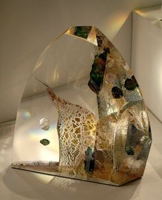 Cast Art, Cast Glass, Color Meanings, Art Of Glass, Murano, Deco, Czech Glass, Colored Glass, Stained Glass