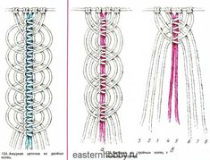 Kuvahaun tulos haulle макраме схемы плетения