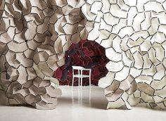 Art Installation cave chair