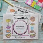 Msemmen   Ramadanrecepten.nl Cappuccino Cupcakes, Ramadan Activities, Islam For Kids, Bag Toppers, Money Box, Goodie Bags, Eid, Art Projects, Crafts For Kids