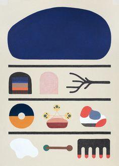 Ink on board 50 cm x 70 cm x 18, 2015 - Klas Ernflo - illustration