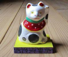 八郷の日々: 助六の招き猫 古い型