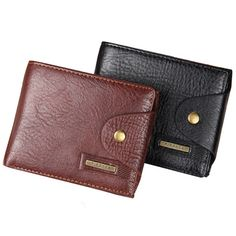 Hot Sale Quality Hasp Style Men Wallets Cross Vertical PU With Leather Coin Pocket Black Brown Credit Card Holder Purse Wallet #men, #hats, #watches, #belts, #fashion, #style