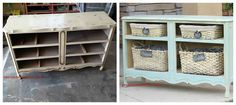 The Best DIY's, Upcycled Furniture Projects and Tutorials by Redoux lotsa ideas for remaking furniture