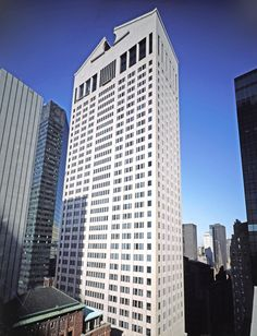 Located at 550 Madison Avenue in Manhattan, Johnson's AT&T Building (now known as the Sony Tower) is an icon of postmodern design. The building was designed with his partner at the time, John Burgee, and is distinguished by a pink granite exterior and the Chippendale-inspired pediment.