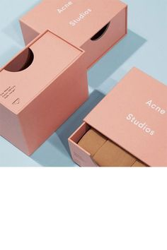 Acne Studios - Underwear Woman Shop Ready to Wear, Accessories, Shoes and Denim for Men and Women packaging love! Packaging Carton, Cool Packaging, Beauty Packaging, Print Packaging, Packaging Boxes, Product Packaging Design, Medical Packaging, Types Of Packaging, Graphisches Design