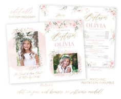 gallery photo Christmas Card Template, Christmas Photo Cards, Holiday Cards, Lds Baptism Program, Baptism Invitations, Program Template, Baptism Pictures, Boy Baptism, Heart Designs