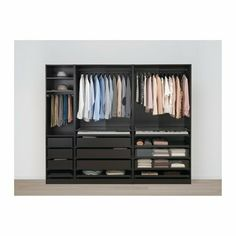 Terrific Photo IKEA PAX Black-Brown, Hamnås Black-Blue Wardrobe Thoughts You understand conventional outfits hangers, which you will really have to hold in your closet.