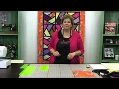 Sashed Half Hexi Quilt Tutorial - YouTube