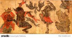 Demonlar üzerinden çürüyen insani değerler temsil ediliyor.
