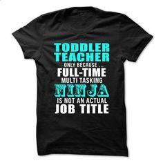 Love being an Awesome TODDLER-TEACHER - #denim shirts #short sleeve sweatshirt. ORDER NOW => https://www.sunfrog.com/No-Category/Love-being-an-Awesome-TODDLER-TEACHER-68175462-Guys.html?id=60505