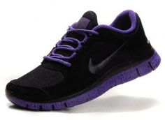 f75cd1fd1bc9 Nike Free Run For Women Black Purple Sneakers Nike Frees Sneakers off