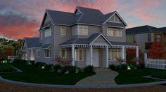 Storybook Designer Homes - Narrow Corner Site Design