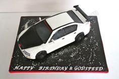 Celebrate with Cake!: Sculpted Honda Civic