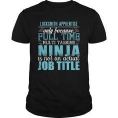 LOCKSMITH APPRENTICE Ninja T-shirt