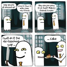 My Ghost, Make New Friends, Comics, Youtube, Cartoons, Comic, Youtubers, Comics And Cartoons, Comic Books