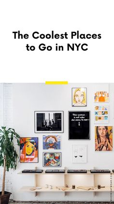 Heading to NYC soon? Bookmark this. These are the coolest places to visit when you're in the city. Nyc Spring, Spring Break, A Well Traveled Woman, New York Girls, Visiting Nyc, Empire State Of Mind, Lifestyle Shop, New York Fashion, Fashion 2017