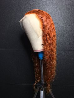 Red Wigs Lace Frontal Wigs Golden Ginger Hair Best Ginger Hair Dye For Dark Hair Red Hair Fading With Age Lime Green Lace Wig Chocolate Red Hair Color Curly Lace Front Wigs, Human Hair Lace Wigs, Curly Wigs, Ginger Hair Dyed, Dyed Hair, Red Hair Fade, Chocolate Red Hair, Protective Styles, Locs