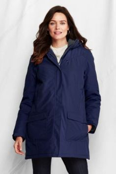 Women's Insulated Squall Parka from Lands' End