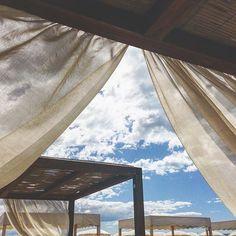 #RobertaRuiu Roberta Ruiu: Punti di vista. — #Sunday #beauty #beach #sky #versilia #cloudy #sunny #love #relax #blu #white #summer #summer2015 #aperitif #tuscany #fortedeimarmi #lovely #view #dream #beautiful #skylovers