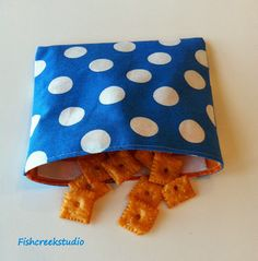 Reusable Snack Bag Tutorial: Back to School At Ellison Lane - Ellison Lane
