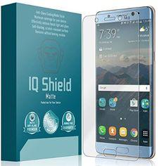 Galaxy Note 7 Screen Protector, IQ Shield® Matte Full Coverage Anti-Glare Screen Protector for Samsung Galaxy Note 7 Bubble-Free Film - with Lifetime Warranty
