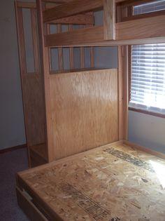 Oak Loft Bed