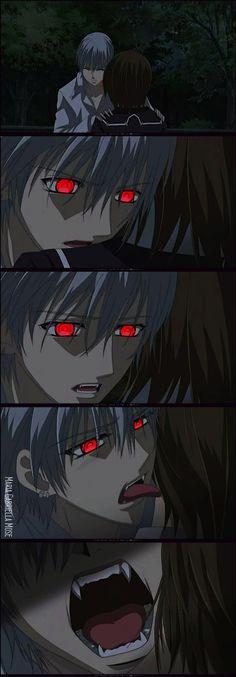 "Yuki: ""Zero! You can't take them?! Ze-"" Zero: *hard breathing* I've tried...so many times..."" Yuki: ""Zero...that hurts..."""