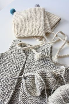 1000+ images about Crochet & Knitted - Baby Cloths Vests on Pinterest V...