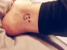 Nice >> moon and stars tattoo | Tumblr