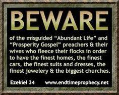 Prosperity Preachers Meme