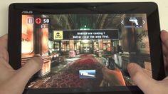 Asus Transformer Pad TF701 : Game Dead Trigger 2 Demo (+playlist)