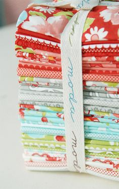 Ruby by Bonnie & Camille! I am so in love with this fabric...