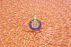 "Club Deportivo Chivas de Guadalajara  ""1"" Lapel Pin  #ChivasUSA"