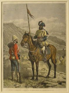 A Sowar 10th Bengal Lancers & Private 9th Foot. 2nd Afghan War. 1878-1880