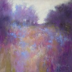 """""""Blue Monday II"""" by Barbara Benedetti Newton - (Art Journal: Aaahh. Pastel Landscape, Abstract Landscape, Landscape Paintings, Abstract Art, Soft Pastel Art, Pastel Artwork, Pinturas Color Pastel, Paintings I Love, Pastel Paintings"""