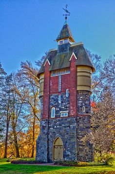 Oakbourne Mansion Watertower | by copr369 Beautiful Architecture, Beautiful Buildings, Art And Architecture, Architecture Details, Pavilion Architecture, Classical Architecture, Sustainable Architecture, Residential Architecture, Contemporary Architecture