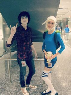 Youmacon 2012: Marshall Lee + Fionna by x-redemption