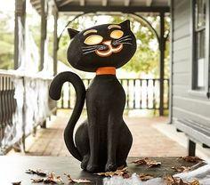 Jumbo Black Cat Luminary #pbkids