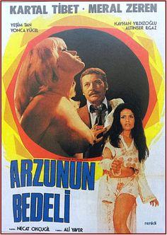 ARZUNUN BEDELİ 1973 Cinema Film, Film Movie, Movies, Films, Film Archive, Arnold Schwarzenegger, Pirates Of The Caribbean, Film Posters, Erotica