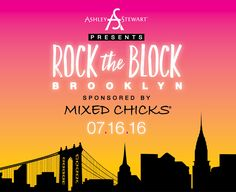 events to attend -ashley stewart rock the block
