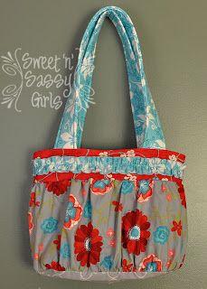 Review of the Knotty Girl Boho Bag Pattern | Sweet 'n' Sassy Girls