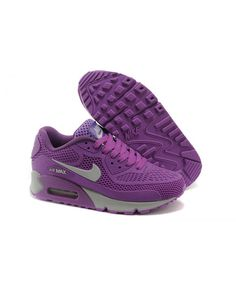 buy popular 53b60 61fa9 Femme Nike Air Max 90 Kpu Mesh Violet Chaussures