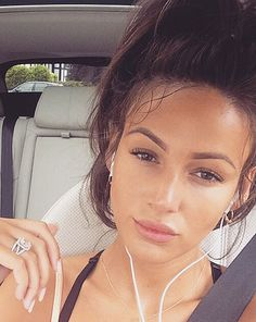 Michelle Keegan's fan have began to comment on her lips after this beautiful gym selfie [Michelle Keegan/Instagram]