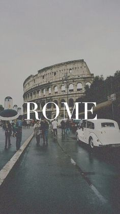 rome, italy, and wallpaper image - City Wallpaper, Travel Wallpaper, Book Wallpaper, Places To Travel, Travel Destinations, Places To Go, Phone Backgrounds, Wallpaper Backgrounds, Poster S