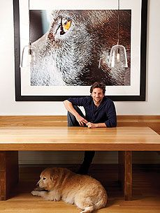 Such a wonderful way to honor and remember your beloved pets.  Thats a GIANT picture of Bradley Cooper's late German Shorthaired Pointer
