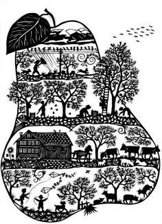 Werke Laurel Tattoo, Paper Pot, Polish Folk Art, Silhouette Curio, Ukrainian Art, Wood Burning Art, Wood Engraving, Origami Paper, Digital Stamps