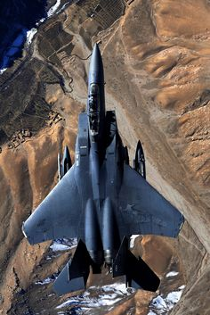 F-15E Strike Eagle over Afghanistan (Source)