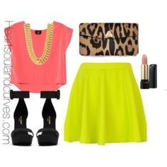 Colorblocking with Neon