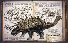 ark survival evolved - strong creature. Collects wood, berries, stone, and metal